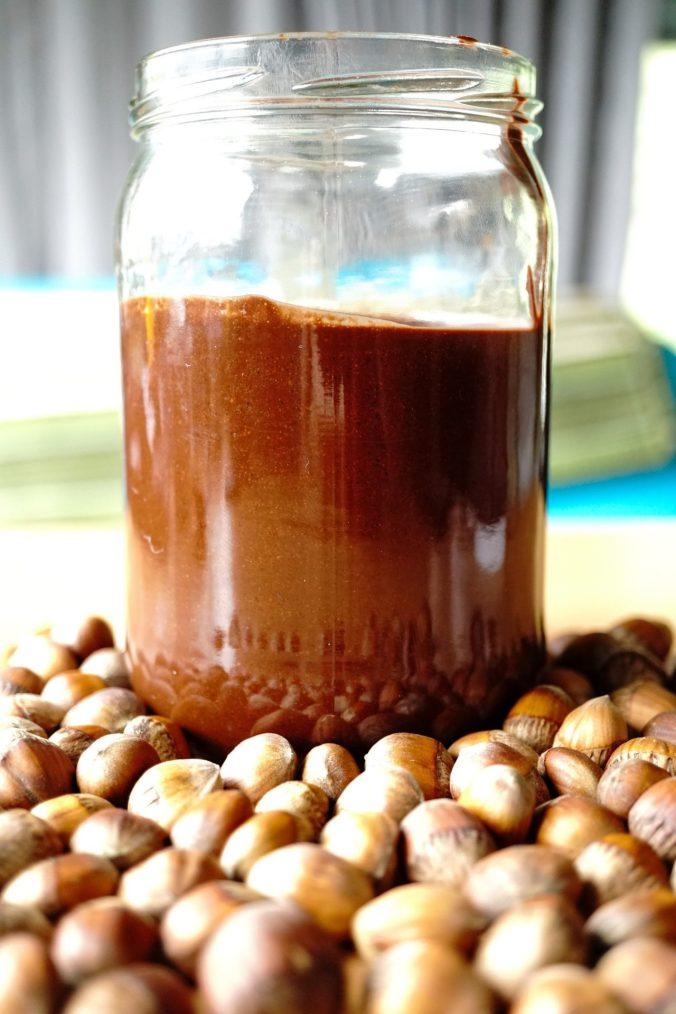 Hazelnut spread!
