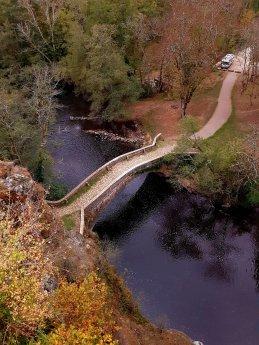 Beautiful ancient bridg